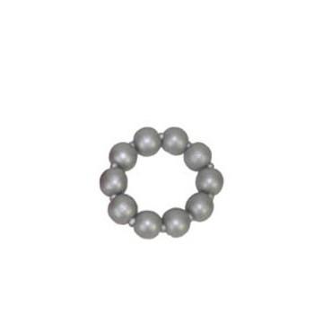 Zilveren kralenarmband